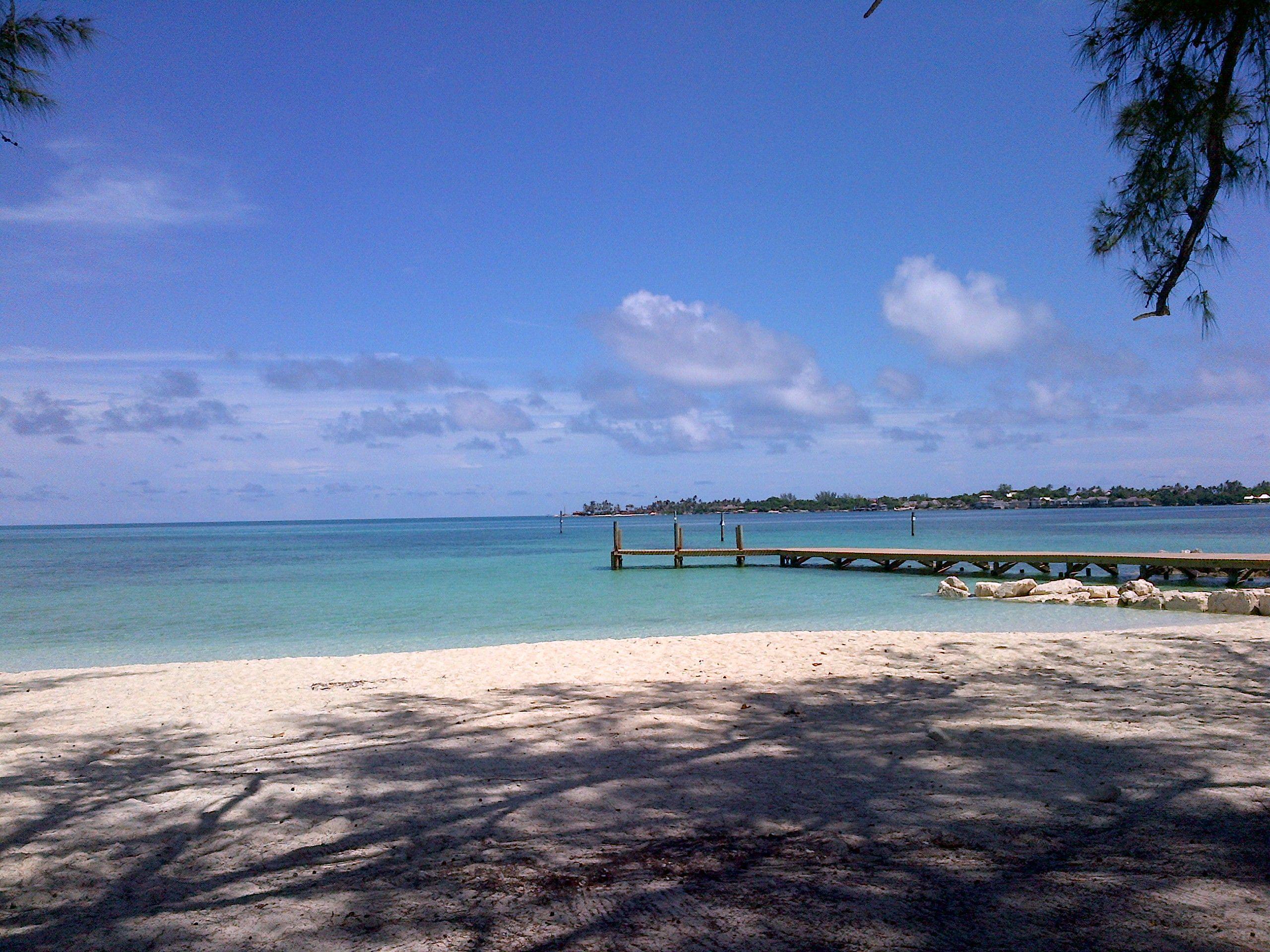 Jaws Beach - Nassau, Bahamas