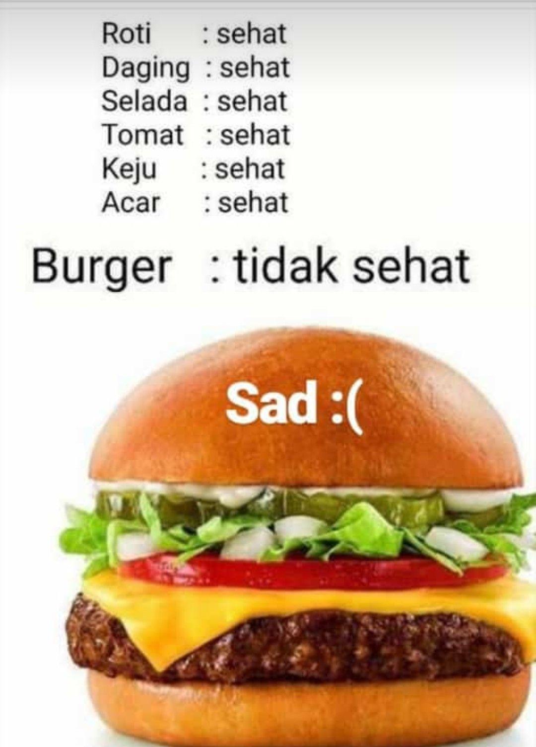 Pin Oleh Cici Nlm Di Lol Diet Burger Daging