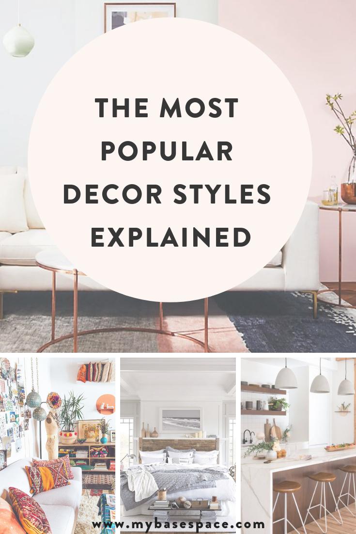Explaining The Most Popular Apartment Decor Styles Popular Decor