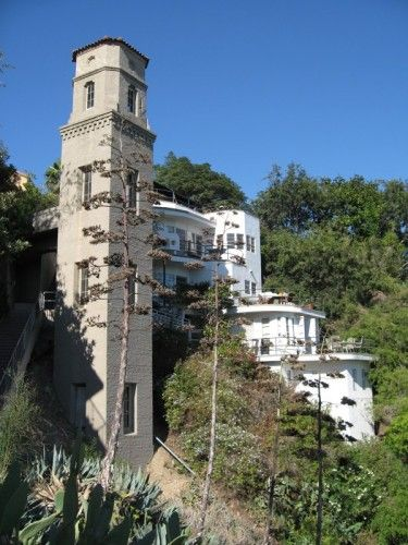 Now To Market Rental In Famous High Tower Tower Apartment Tower Vintage Los Angeles