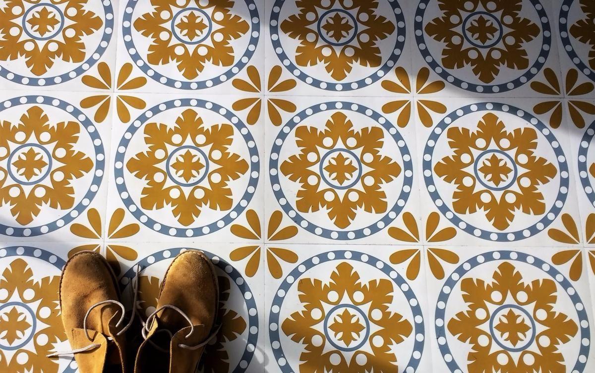 Retro Vinyl Tegels : Sorzano original vinyl floor tiles bathe pinterest retro vinyl