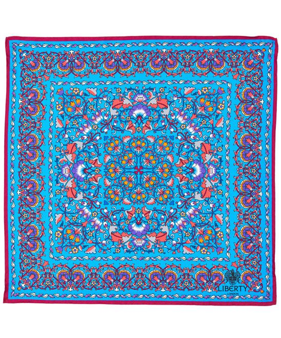 Liberty London Lodden Silk Neckerchief