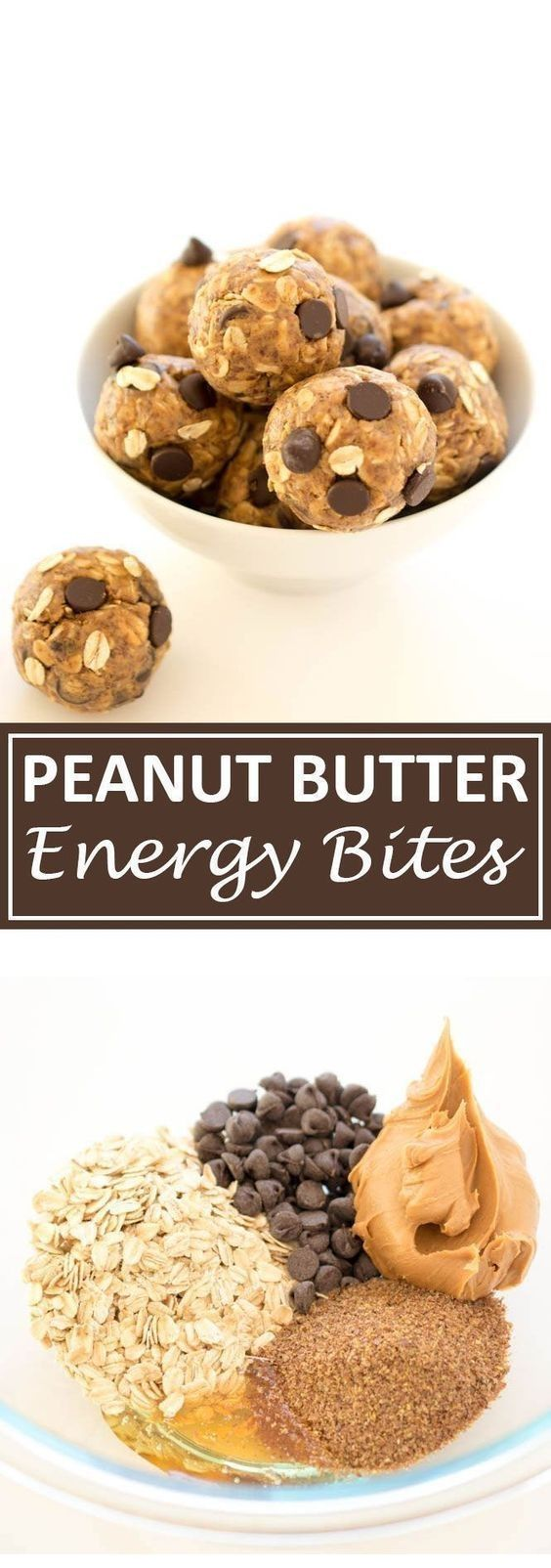 5 Ingredient Peanut Butter Energy Bites #cleaneatingforbeginners