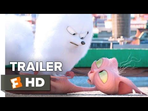 The Secret Life Of Pets Official Trailer 2 2016 Kevin Hart Jenny Slate Animated Comedy Hd Secret Life Of Pets Comedy Hd Pets Movie