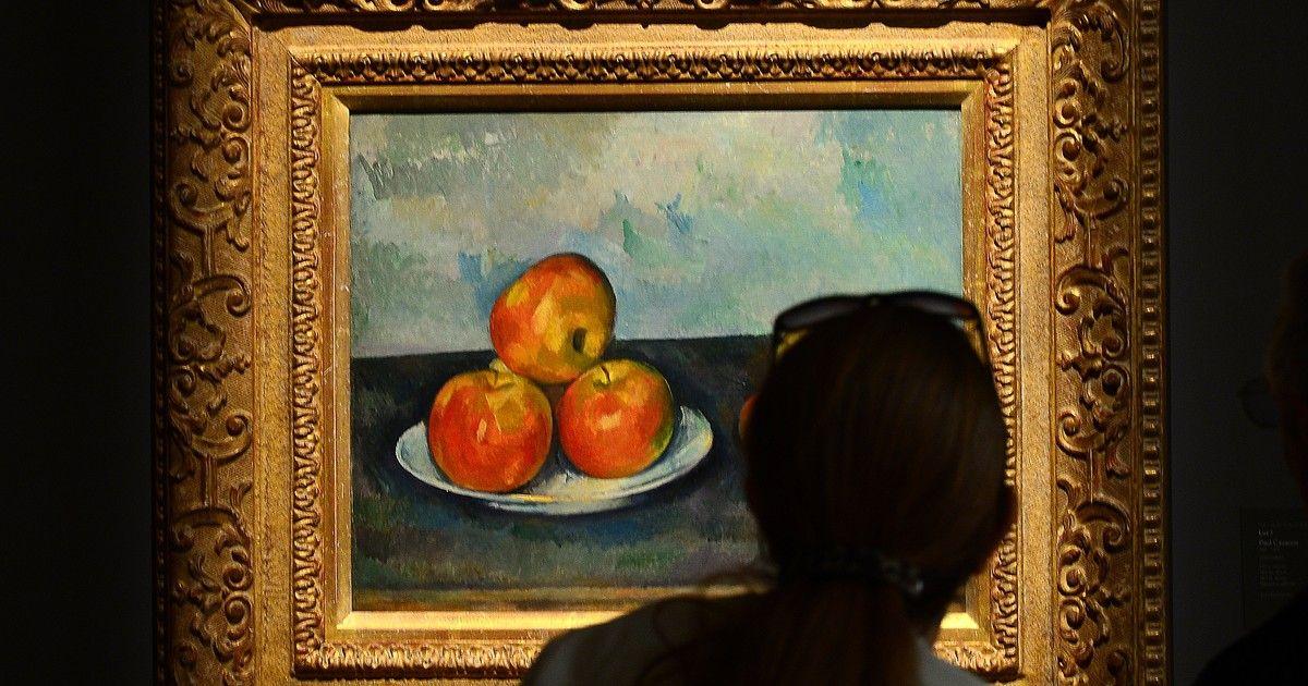 Quadro de Cézanne é arrematado por US$ 41,6..If I buy only one apple ...how is the cost..?... milhões em leilão em NY