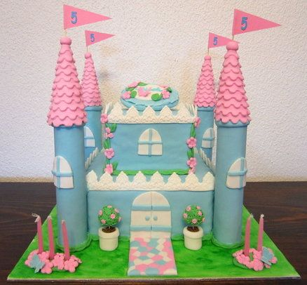 Princess Castle by Michelle27 CakesDecorcom cake decorating