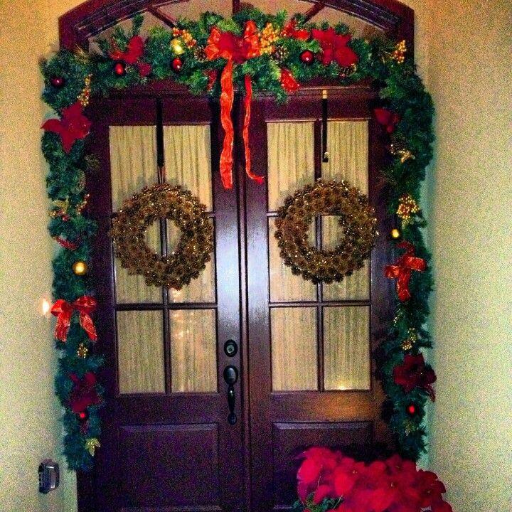 Front door fall wreath front door decor