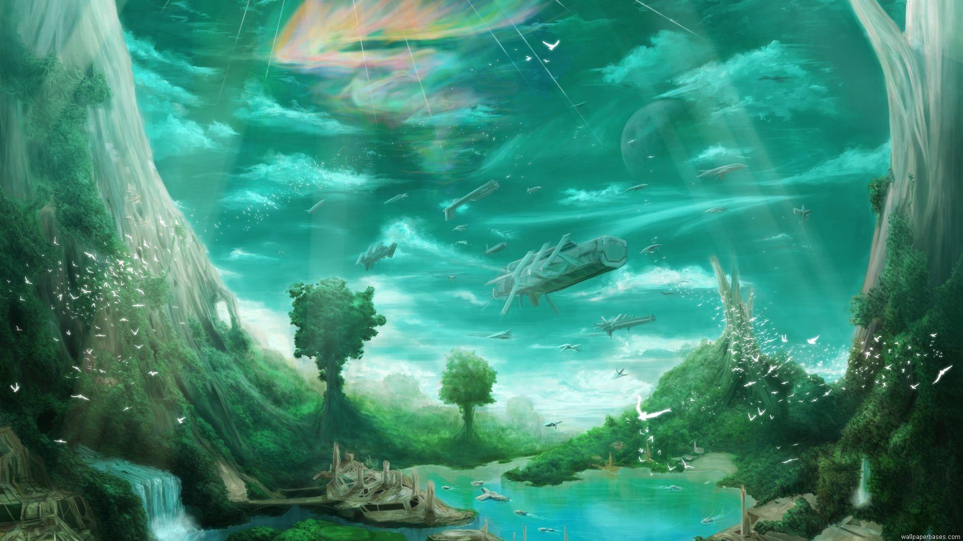 High Quality Computer Wallpapers 60 Fantasy Artwork Underwater Wallpaper Sci Fi Wallpaper