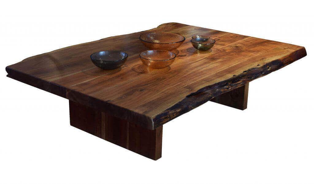Live edge coffee table hansen interiors in 2020 live