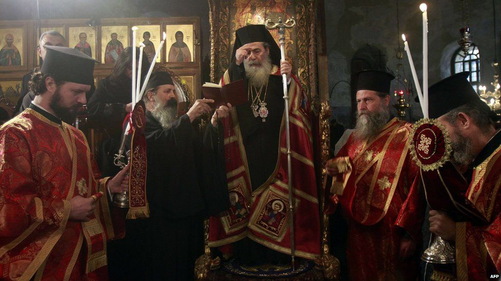 When Is Greek Orthodox Christmas.In Pictures Orthodox Christmas Palestine Greek Orthodox