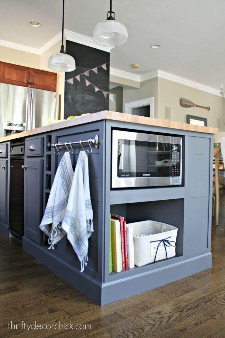 Ideas para Hacer una Isla de Cocina Económica DIY   Cabin – Kitchen ...