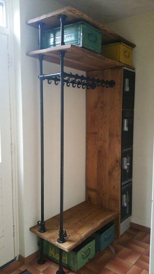 voorbeeld industrial design pinterest m bel garderobe und haus. Black Bedroom Furniture Sets. Home Design Ideas