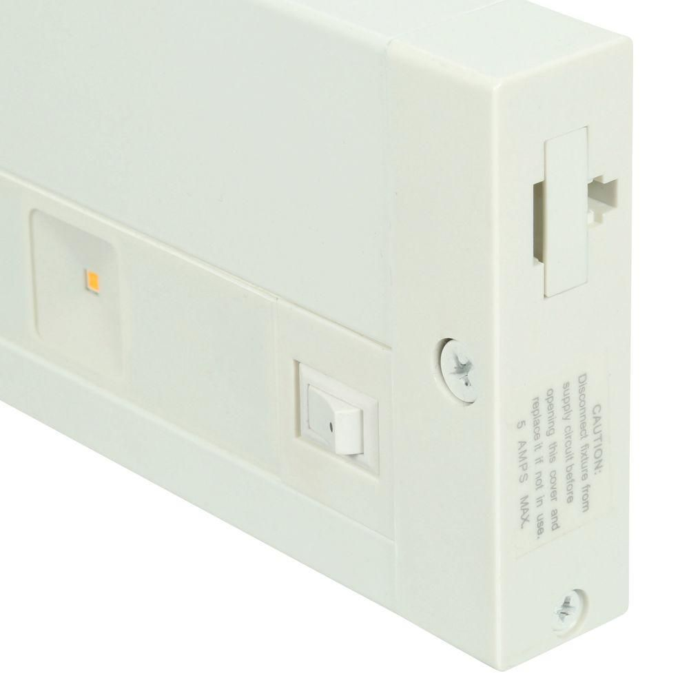 Juno 24 in. White LED Dimmable, Linkable Under Cabinet ...