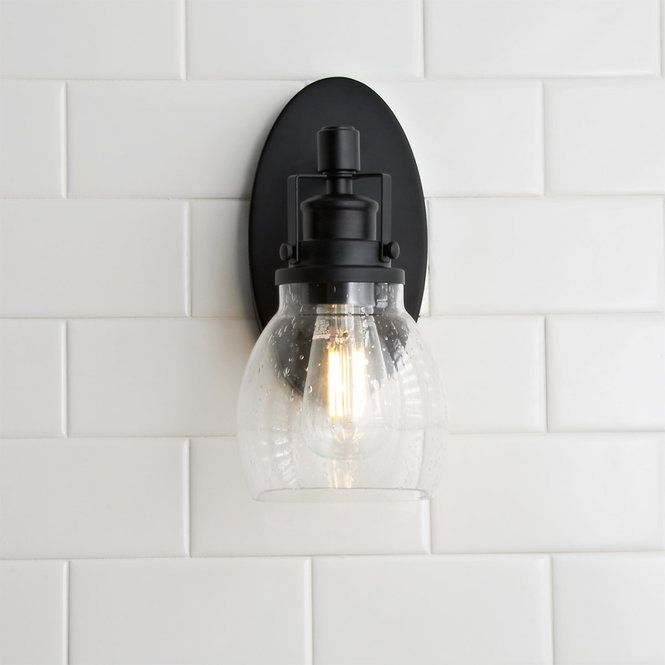 Photo of Soft Seed Bath wall lamp