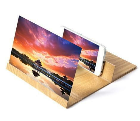 12 Inch Stereoscopic Phone Screen Enlarger gift new