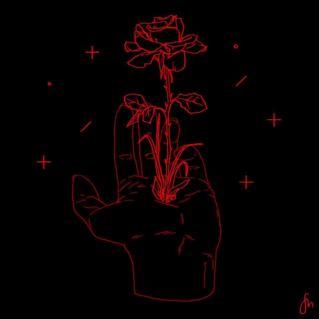 Therewaschaos Red Aesthetic Red Art Dark Aesthetic