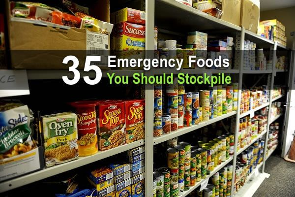 35 Emergency Foods To Stock Up On Homestead Survival Site