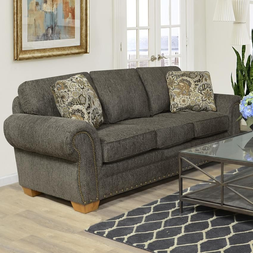Walters Sofa With Nailhead Trim By England Furniture Living