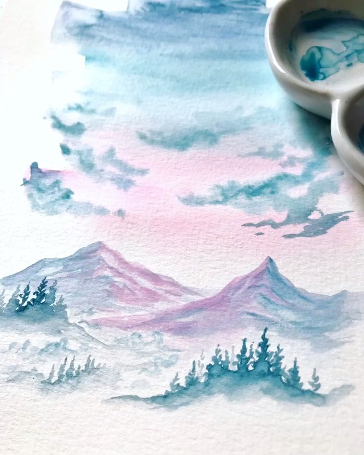 Photo of Watercolor Painting