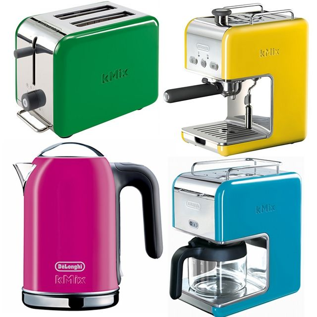 Colorful Kitchen Appliances to Brighten My Kitchen | Kitchens, Retro ...
