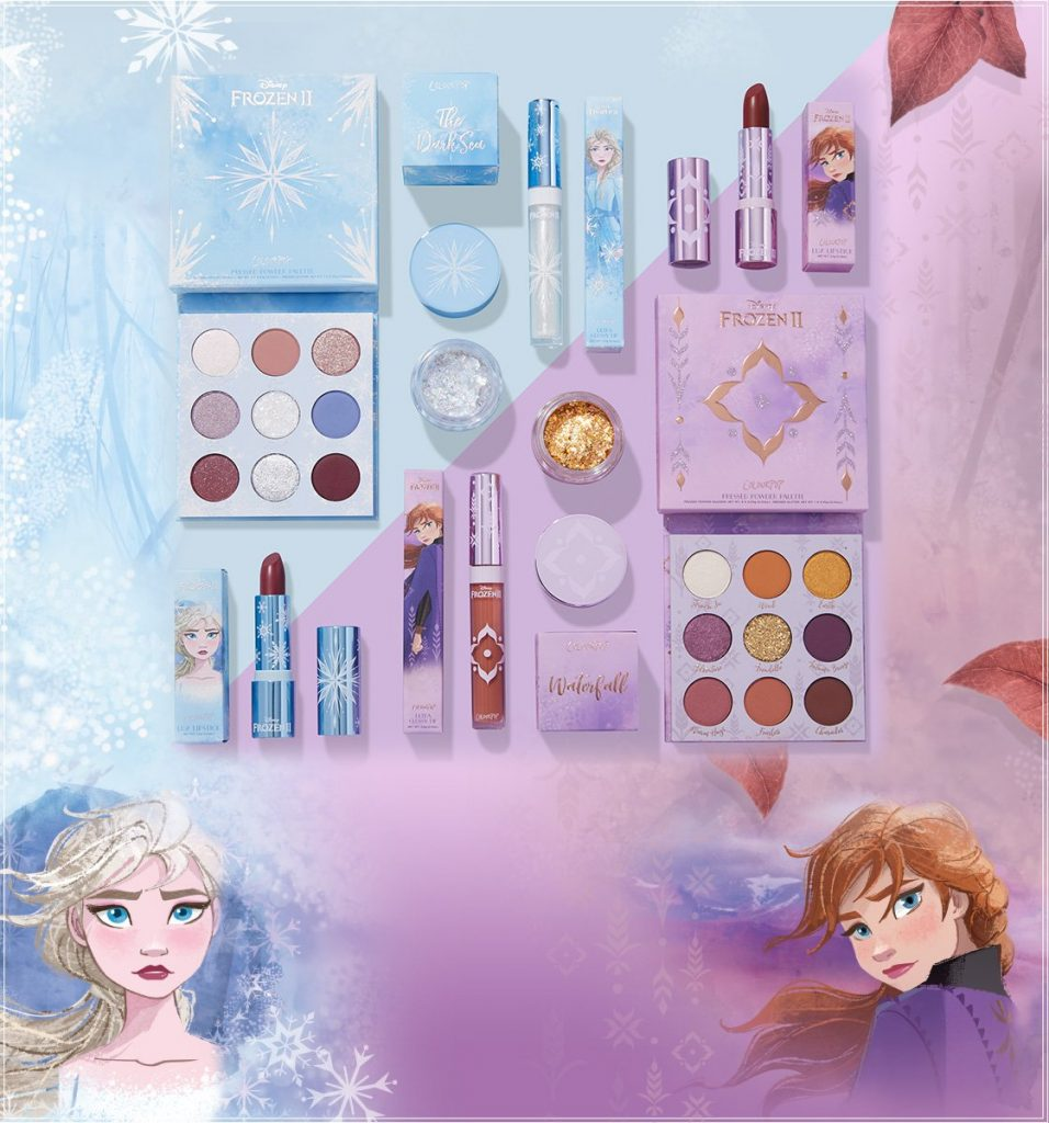 Photo of New Frozen Colourpop Makeup Collection Is Enchanting