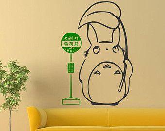Totoro Wall Decal - Skoshbox.com