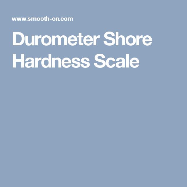 shore hardness scale