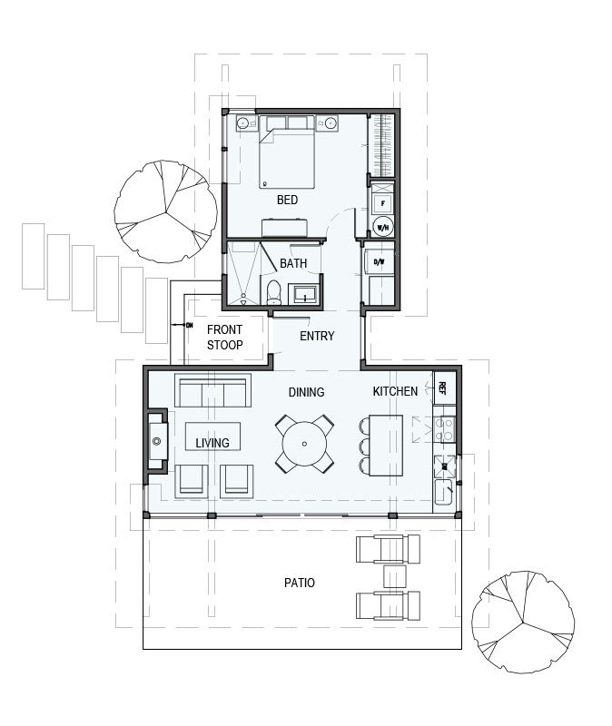 square feet story bedroom bathroom also sd  one guest house in small plans rh pinterest