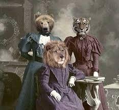 Image result for vintage anthropomorphic art