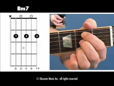 Beginner Guitar Chord - Learn How to Play B Minor 7 | Beginner ...