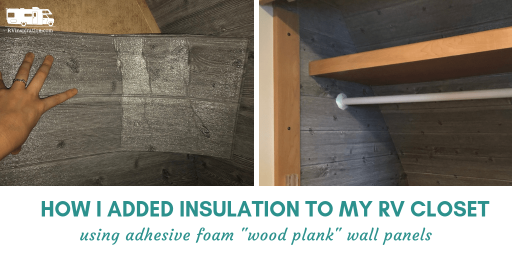 Insulating RV Walls with Faux