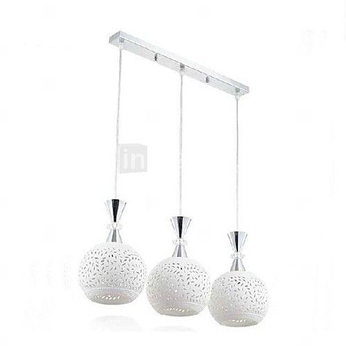 LED Write Ceramics Pendant Light Creative Bedroom Kitchen Room Lamp - GBP £ 88.89