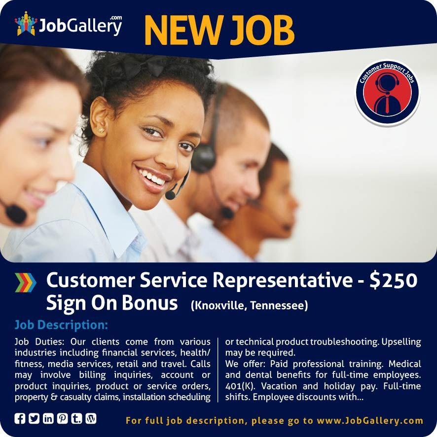 Seeking A Customer Service Representative  Knoxville Tn Jobs