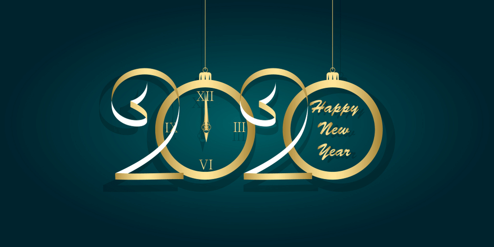 50 Happy New Year 2020 Background Images in HD Happy new