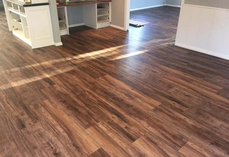 Another Job Completed By Macarthur Floors Blinds Another Happy Customer Karndean Luxury Vinyl Plank Colour Hartford Flooring Luxury Vinyl Plank Blinds