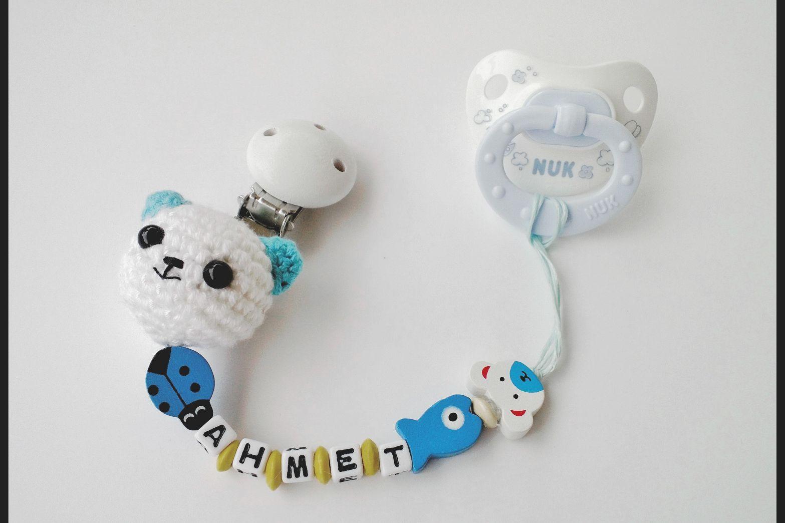 yeni doğan seti - emzik zinciri - Amigurumi Store | 1044x1567