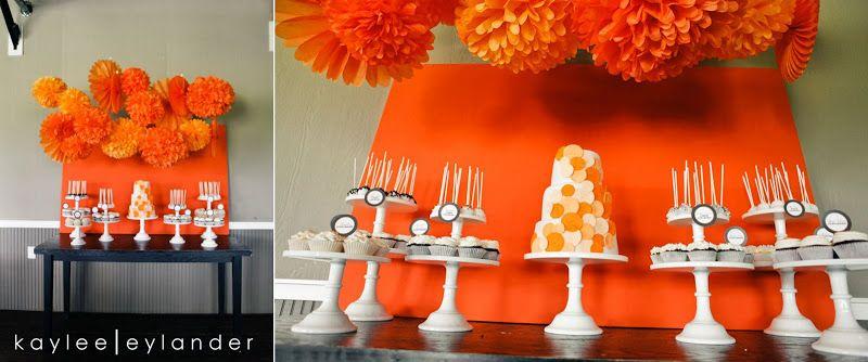 ? Brenda & Erik's Orange Wedding ? | Jenny Cookies