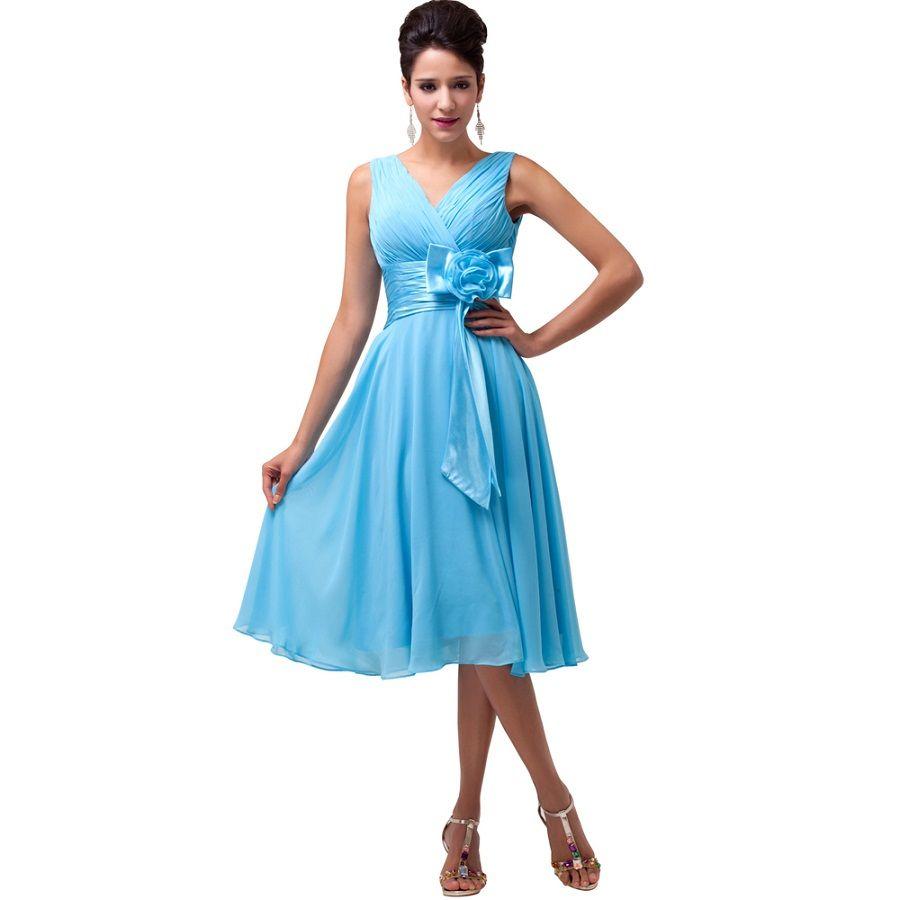 Short Evening Dress Sleeveless Elegant Formal Dresses For Mother ...