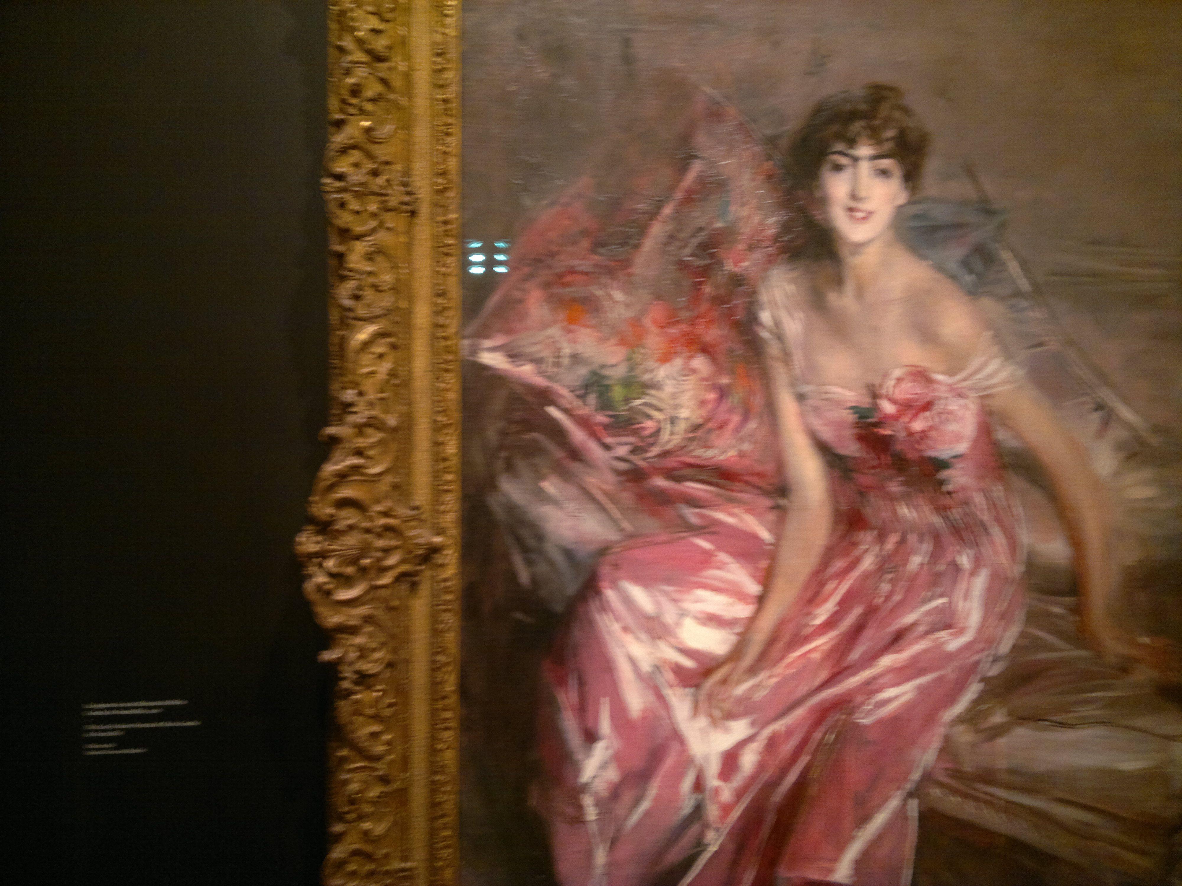 Giovanni Boldini, La signora in rosa