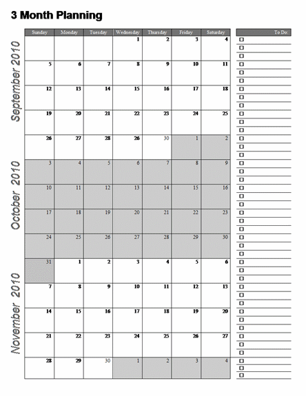 Month Calendar Template Word  Calendar System Ideas