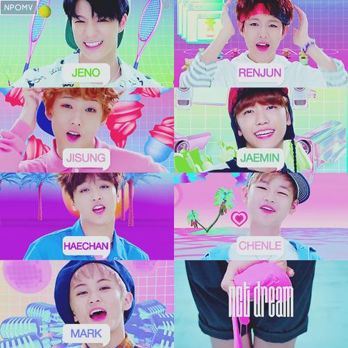 NCT Dream - Mark - Ren Jun - Jeno - HaeChan - JaeMin - ChenLe - JiSung