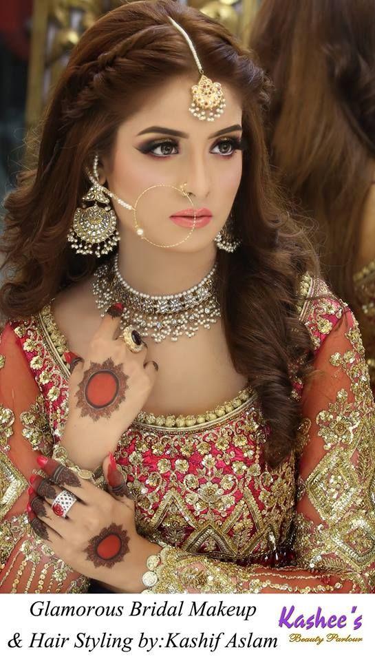 New Pakistani Bridal Hairstyles For Weddings Pakistani Bridal Hairstyles Pakistani Bridal Makeup Mehndi Hairstyles
