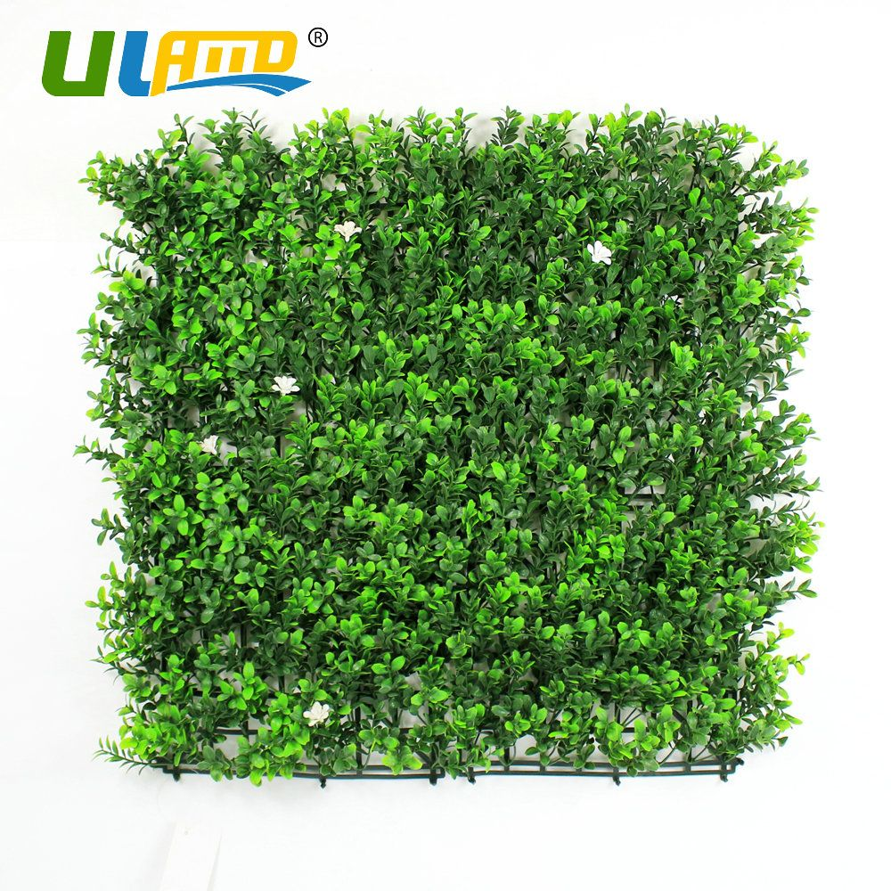 ULAND 1pc 50x50cm Plastic Plants Greenery Ivy Leaves Flower Panel ...