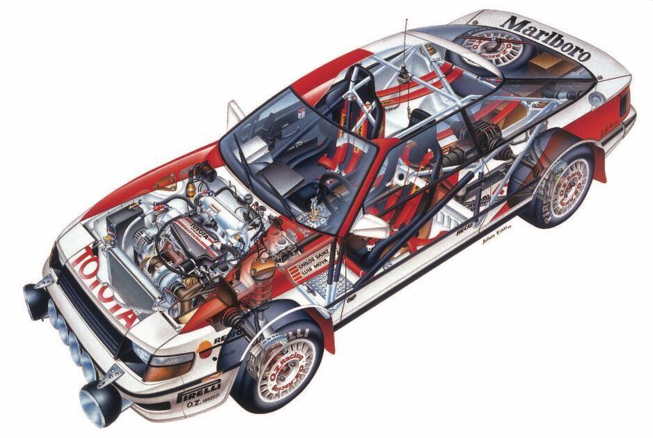 Wyatt Johnson Toyota >> Toyota Celica GT-Four ST165. | cutaways | Coches, Autos y Cartel