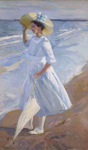 Category Portrait Paintings Of Women By Joaquín Sorolla Art Beach Art Art Sketchbook