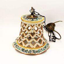 Lampadari In Ceramica Di Caltagirone.Lampadari Lampadario Ceramica Traforato Ceramica Lampadari Lampadario
