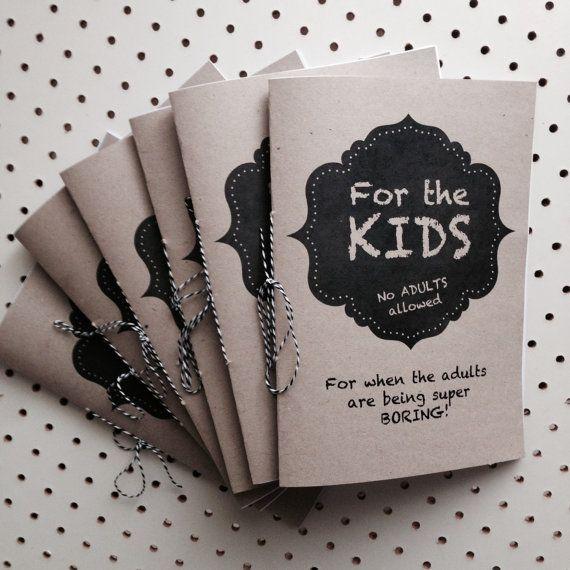 Kids Activity Coloring Book, Wedding, DIY Printable, Children\'s ...