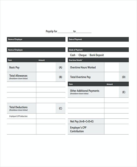 Monthly Payroll templates , What to Know About Payroll Invoice - cash cheque receipt format
