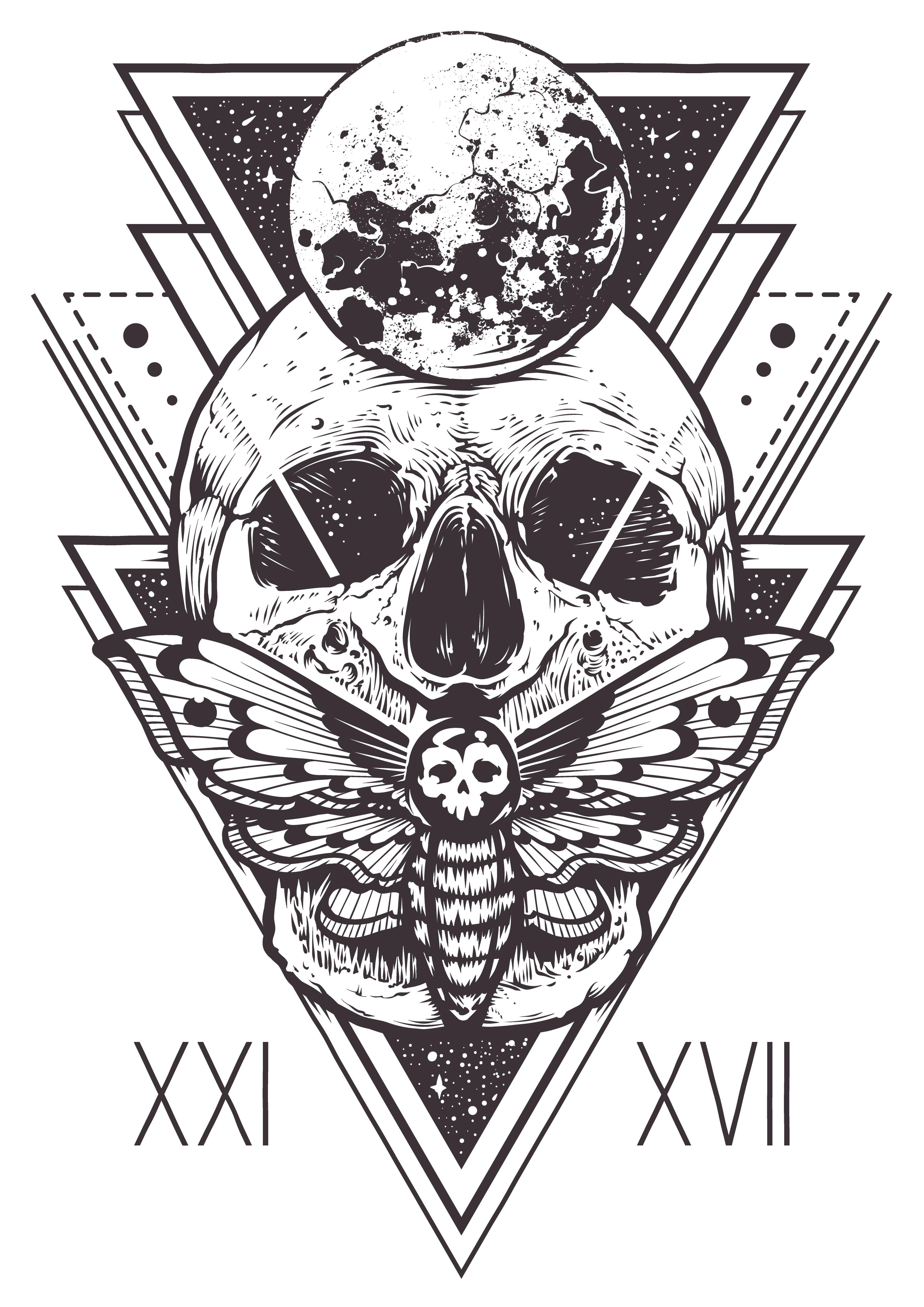 Pin By Tattoo House Nepal On Skull Tattoo