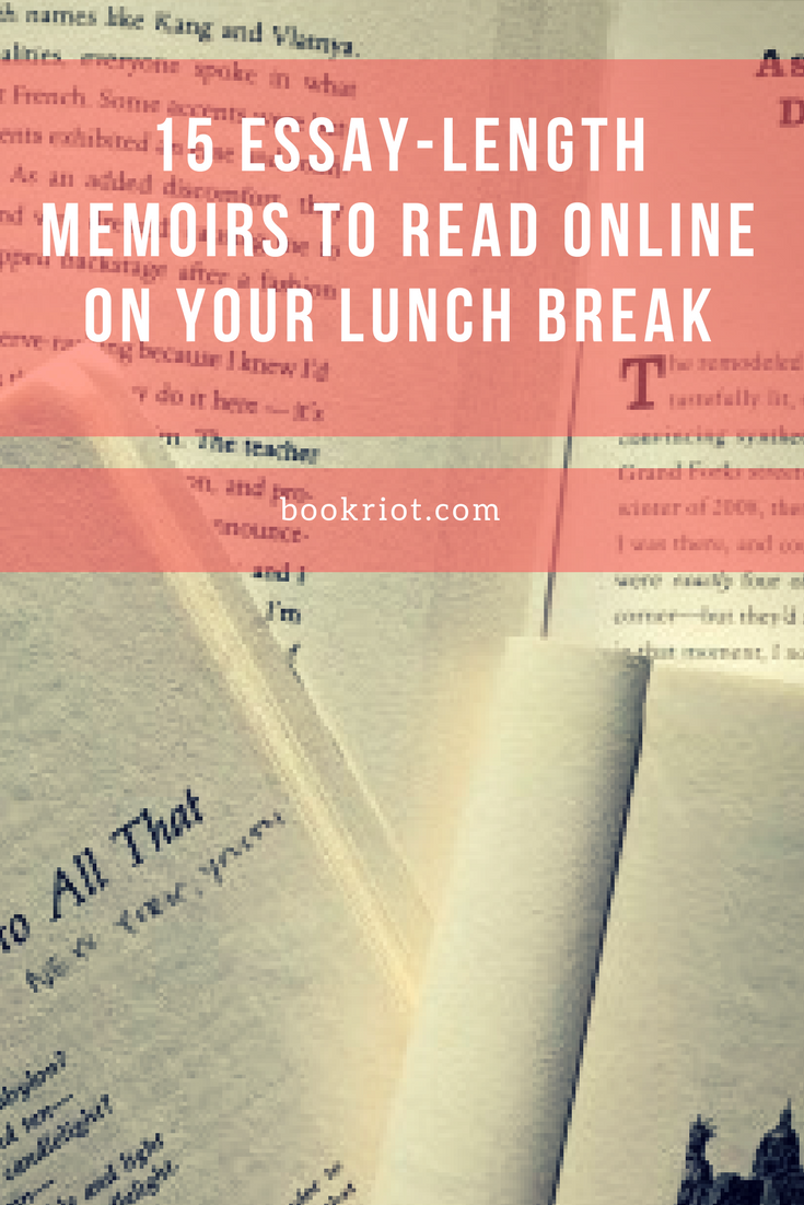 Short essays to read